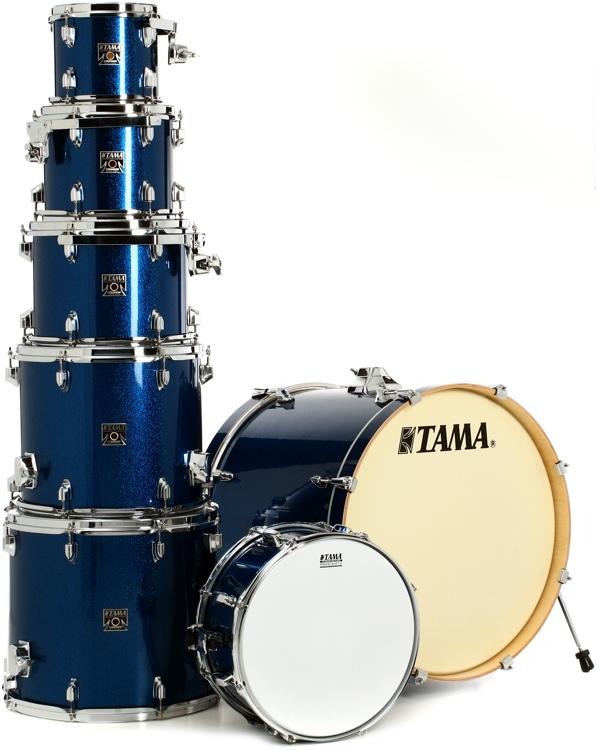 Tama CK72S Superstar Classic 7-piece Shell Pack - Indigo Sparkle image 1