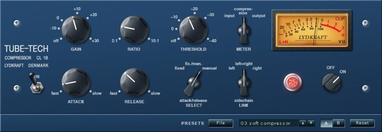 TC Electronic CL 1B Plug-In for PowerCore - TDM image 1