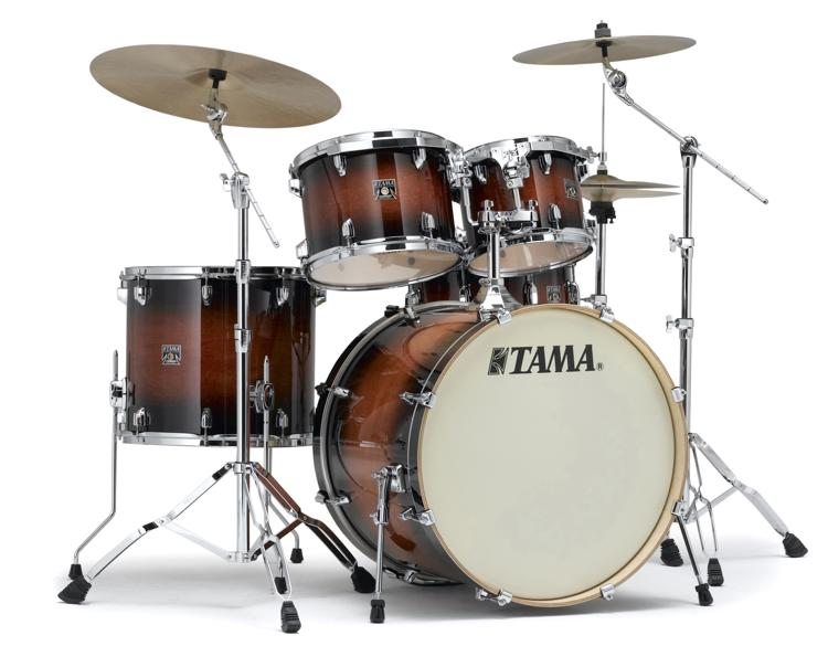 Tama Superstar Classic 5-piece Shell Pack - Mahogany Burst Lacquer image 1