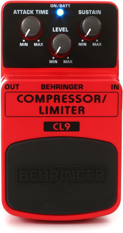 Behringer CL9 Compressor / Limiter Pedal image 1