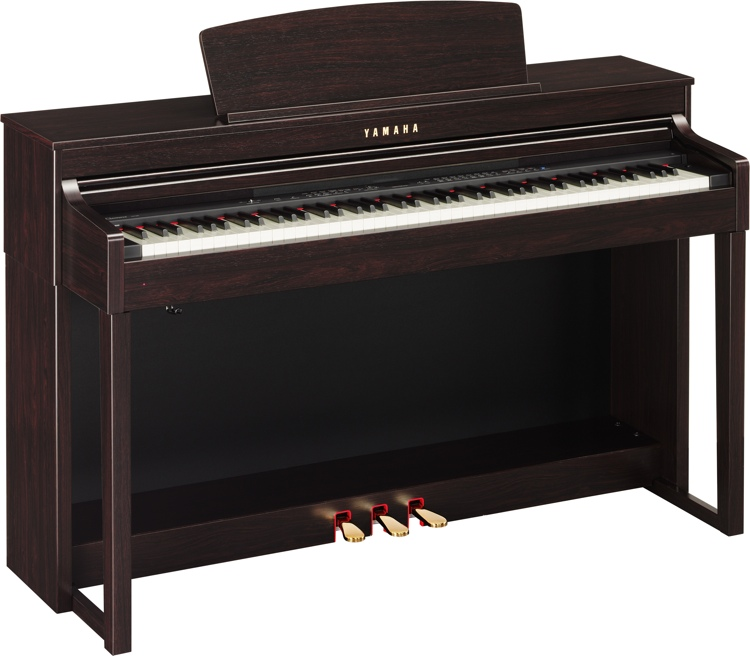 Yamaha Clavinova CLP-440 - Dark Rosewood image 1