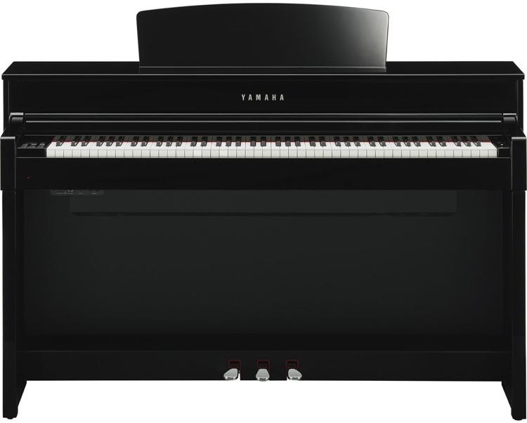 Yamaha clavinova clp 575 polished ebony sweetwater for Yamaha clavinova clp 260 review