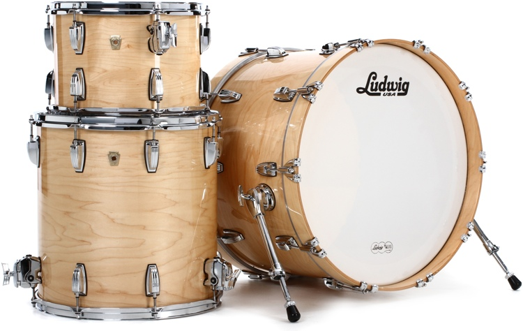 Ludwig Classic Maple 3-piece Shell Pack 22