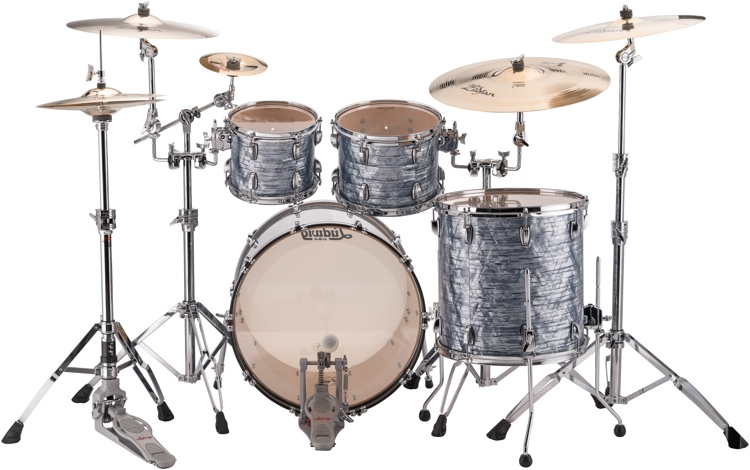 Ludwig Classic Maple Mod 22 Shell Pack - Sky Blue Pearl image 1