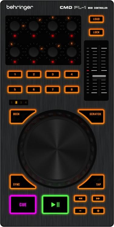 Behringer CMD PL-1 Deck-based DJ Controller image 1