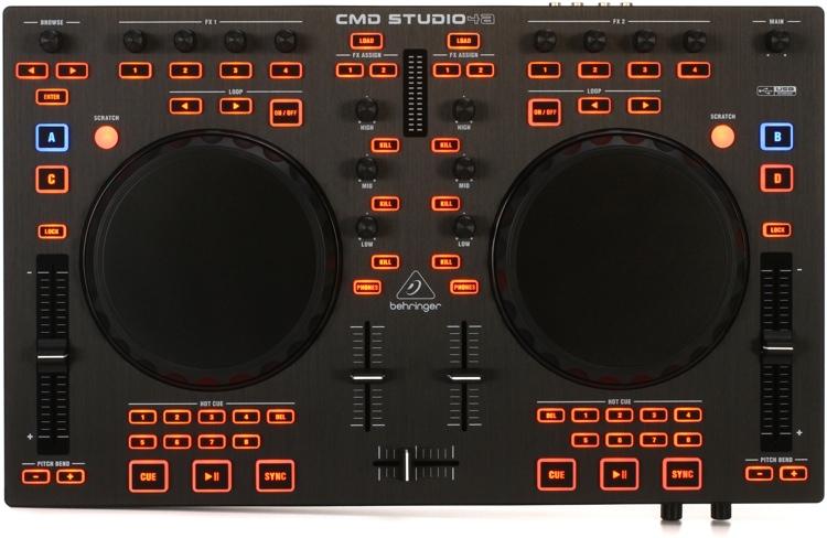 Behringer CMD Studio 4a 4-Deck DJ Controller image 1