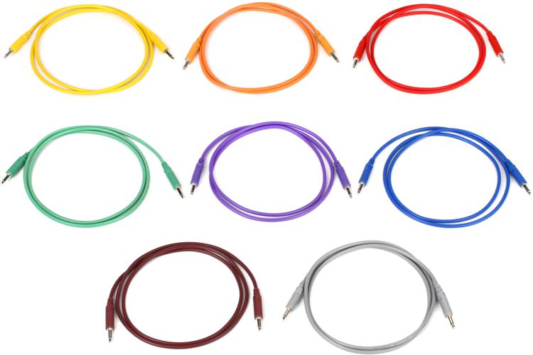 Hosa 3.5mm TS to 3.5mm TS, Patch Cable - 3\' image 1