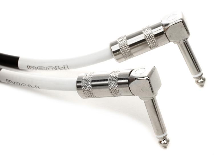 Hosa Guitar Patch Cable - 1\' Angle-Angle image 1