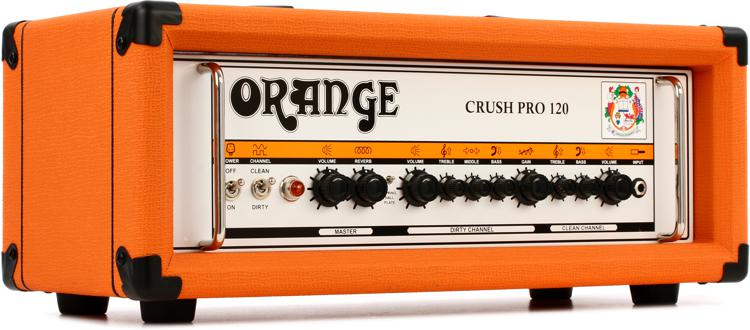 Orange Crush CR120H 120-watt Head image 1
