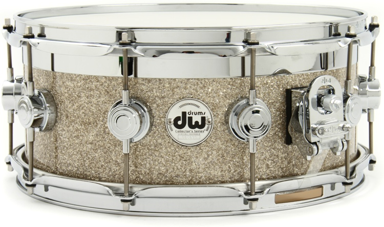 DW Collector\'s Finish Ply Series Top Edge Snare - 6