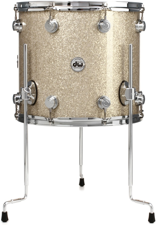 DW Collector\'s Series FinishPly Floor Tom - 14