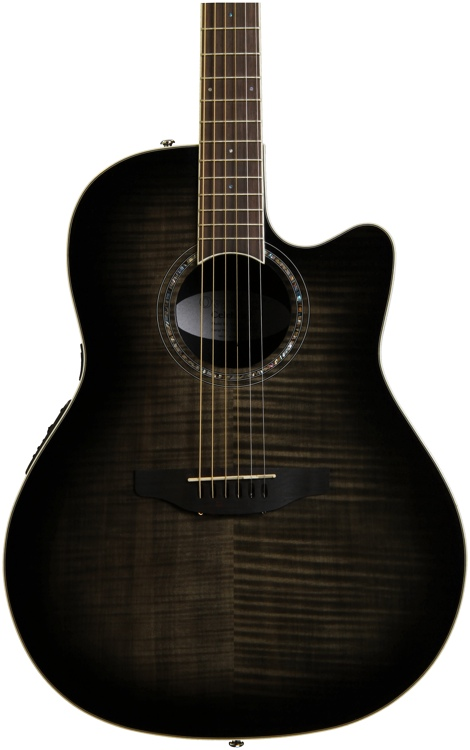 Ovation Celebrity Standard Plus CS24P - Trans Black image 1