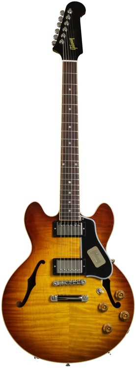 Gibson Custom CS-336 Figured w/Non-Reverse Firebird Neck - Iced Tea image 1