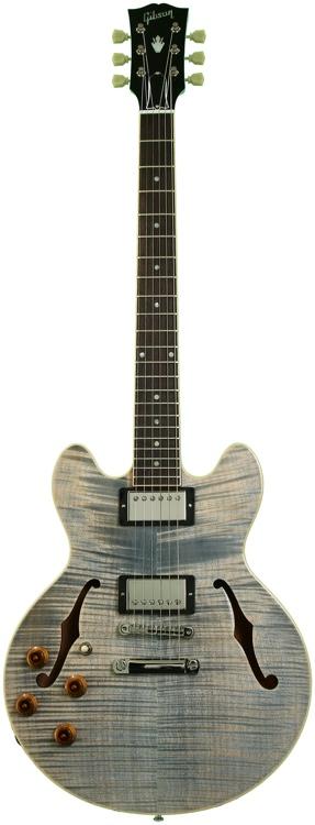 Gibson Custom CS336 - Denim Blue, Left Handed image 1