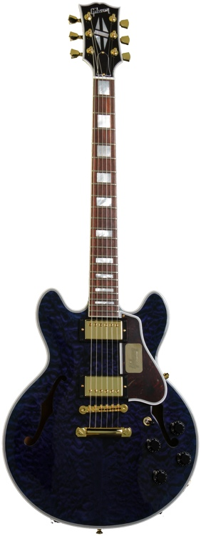 Gibson Custom CS-356 - Trans Blue image 1