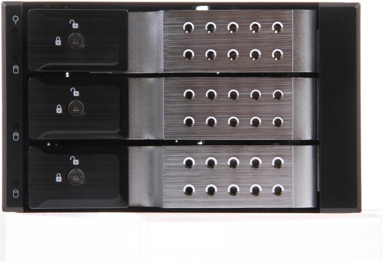 Sweetwater Custom Computing 3-slot Hard Drive Bay image 1