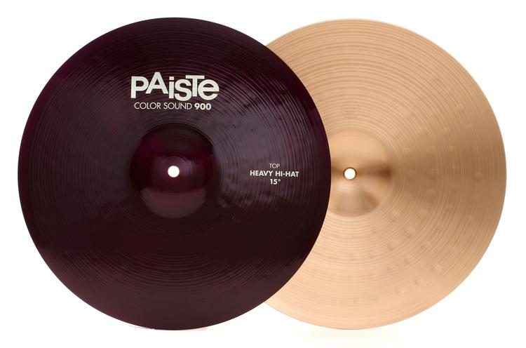 Paiste 900 Series Colorsound Heavy Hi-Hats - 15