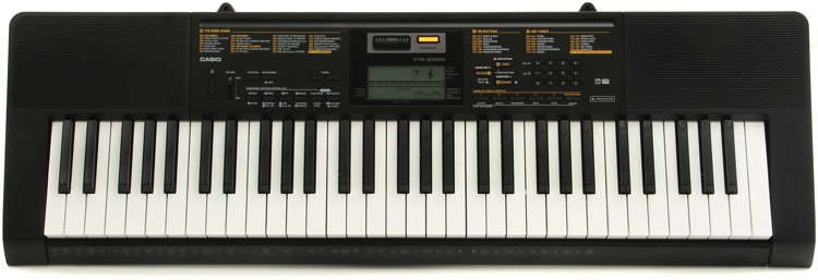 Casio CTK-2400 61-key Portable Arranger image 1