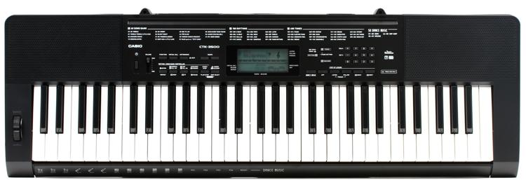 Casio CTK-3500 61-key Portable Arranger image 1