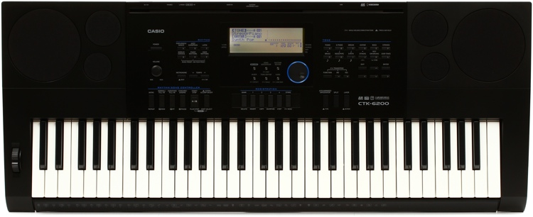 Casio CTK-6200 61-key Portable Arranger image 1
