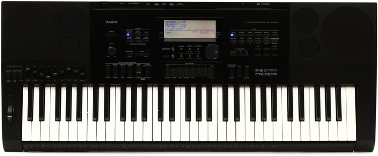 Casio CTK-7200 61-key Portable Arranger image 1