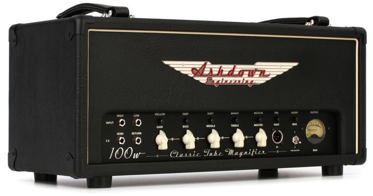 Ashdown CTM-100 100-Watt Tube Bass Head image 1