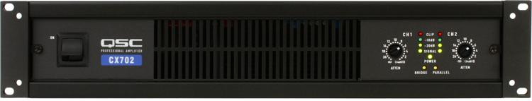 QSC CX702 Power Amplifier image 1