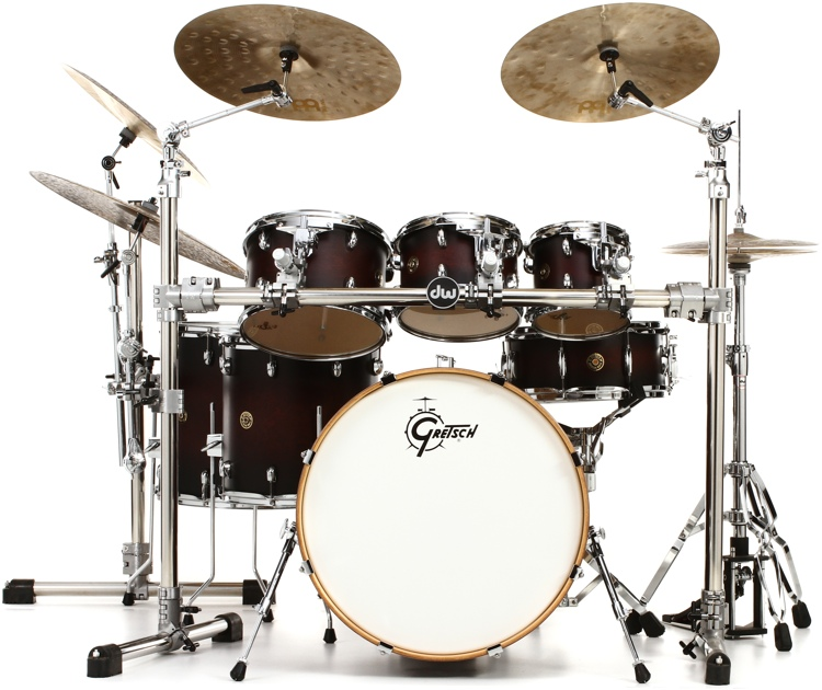 Gretsch Drums Catalina Maple Shell Pack With Free 8