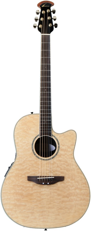 Ovation Celebrity CC24-4Q - Natural Quilt image 1