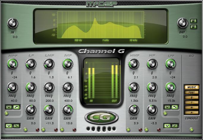McDSP Channel G HD v6 Plug-in image 1