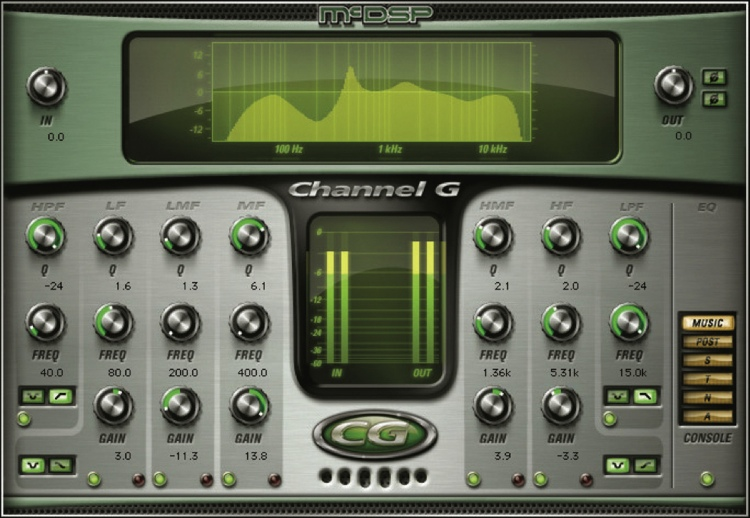 McDSP Channel G Native v6 Plug-in image 1