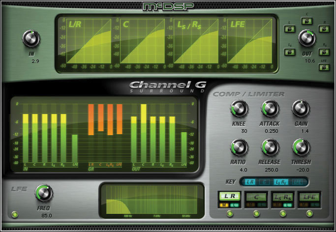McDSP Channel G Surround HD v6 Plug-in image 1