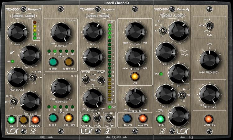 Lindell Audio ChannelX Plug-in Bundle image 1