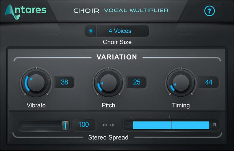 Antares CHOIR Evo Vocal Multiplier Plug-in image 1
