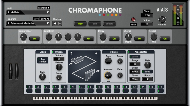 Applied Acoustics Systems Chromaphone 2 Creative Percussion Synthesizer image 1