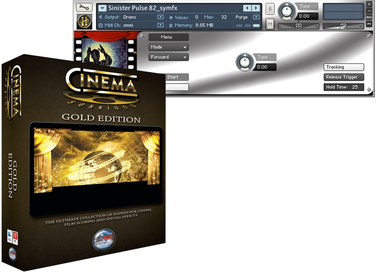 Sonic Reality Cinema Sessions Gold Edition image 1