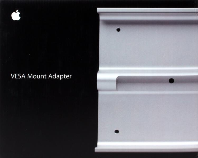 Apple VESA Mount Adapter Kit for iMac and LED Cinema/Thunderbolt Display image 1