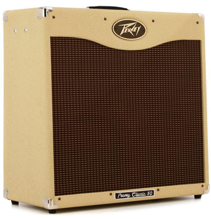 Peavey Classic 50 410 II 50-watt 4x10 Tube Combo - Tweed image 1