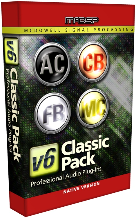 McDSP Classic Pack Native v6 Plug-in Bundle image 1