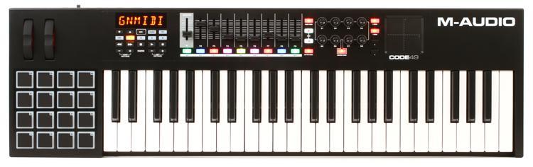 M-Audio Code 49 USB MIDI Controller - Black image 1