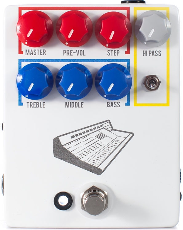 JHS Colour Box Preamp Pedal image 1