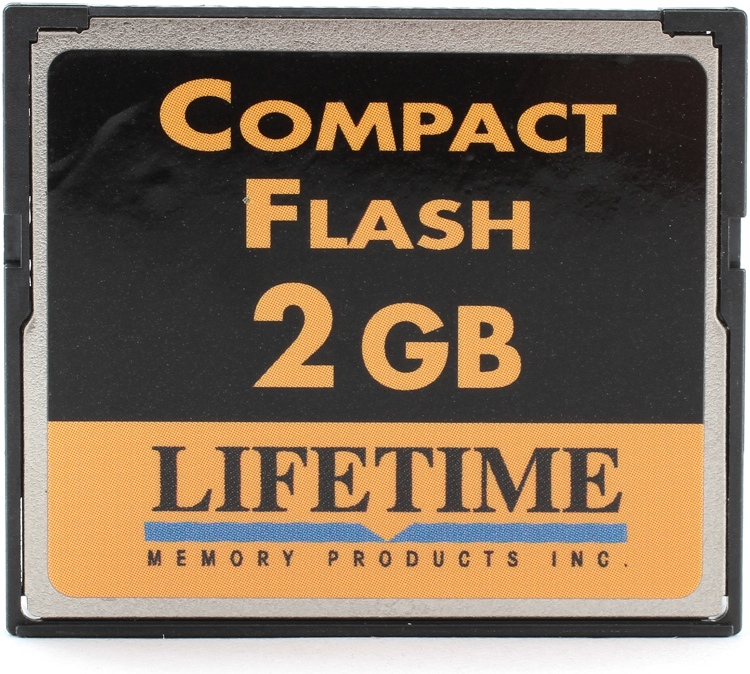 Top Tier CompactFlash Card - 2 GB, 133x image 1