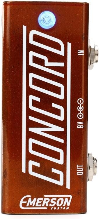 Emerson Custom Concord Utility Buffer Pedal - Orange Metallic image 1