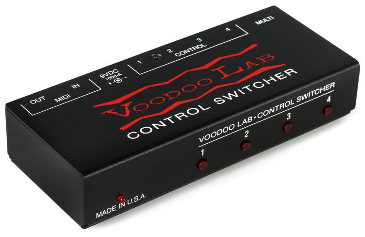 Voodoo Lab Control Switcher MIDI Amp Channel Switcher image 1