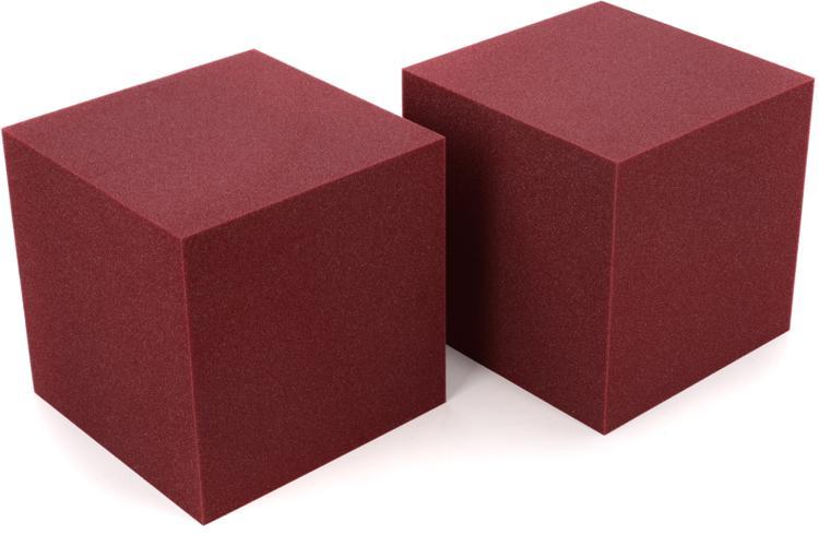 Auralex CornerFill Cubes - Burgundy image 1