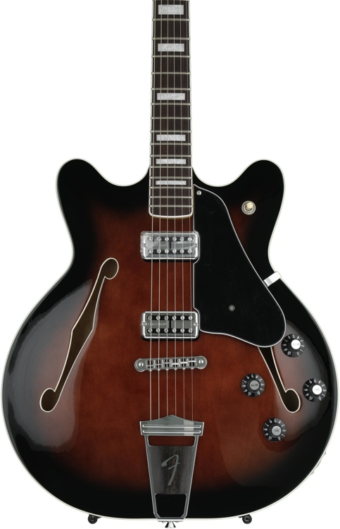 Fender Coronado Special Edition - Bing Cherry Trans with Maple Rosewood Fingerboard image 1