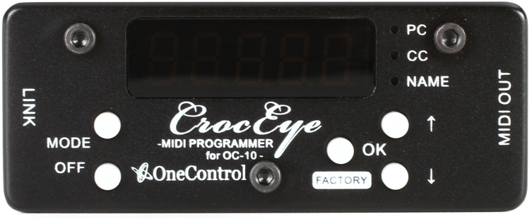 One Control CrocEye MIDI Programmer for Crocodile Tail Loop image 1