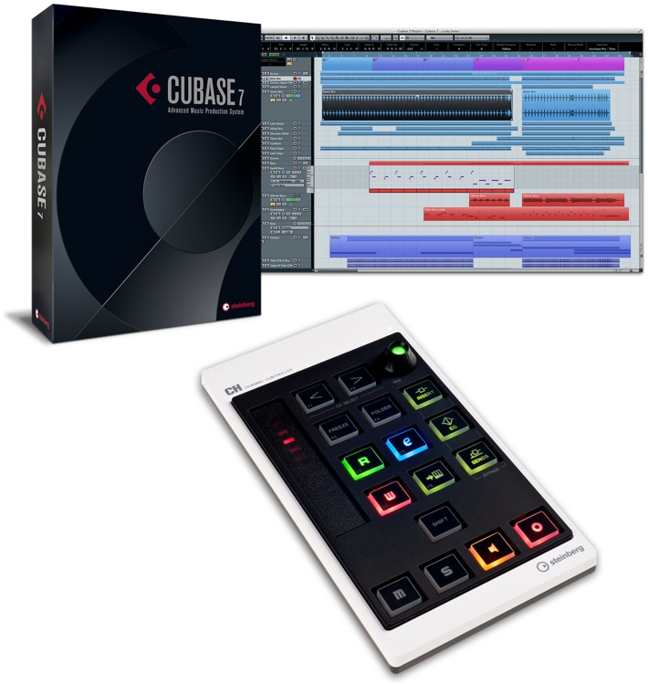 Steinberg Cubase 7 and CMC-CH Channel Controller Bundle image 1