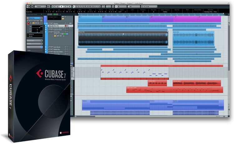 Steinberg Cubase 7.5 - Upgrade from Cubase 6.5 (boxed) image 1