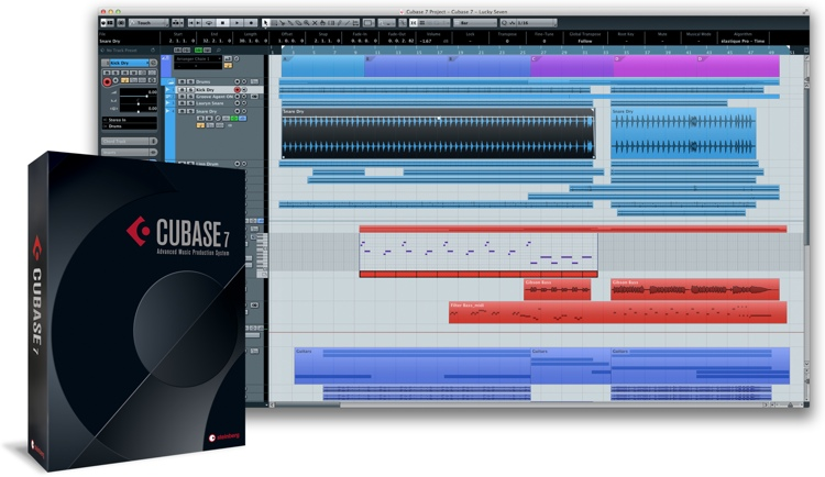 Steinberg Cubase 7.5 - Upgrade from Cubase 6 (boxed) image 1